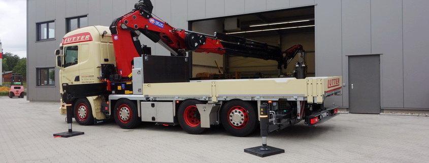 Lutter Spedition NRW - Betriebsumzüge - Maschinentransport - Logistik - Kran-LKW