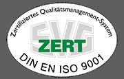Lutter Spedition NRW - Betriebsumzüge - Maschinentransport - Logistik - Zertifizierung nach DIN EN ISO 9001