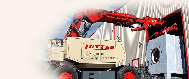 Lutter Spedition NRW - Betriebsumzüge - Maschinentransport - Logistik - Umzug von Maschine bis kompletten Betrieb