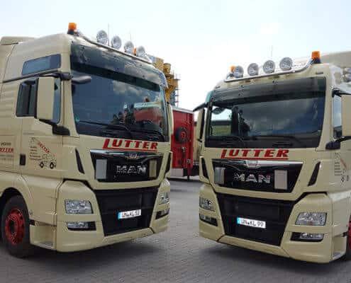 Lutter Spedition NRW - Betriebsumzüge - Maschinentransport - Logistik - individueller Fuhrpark