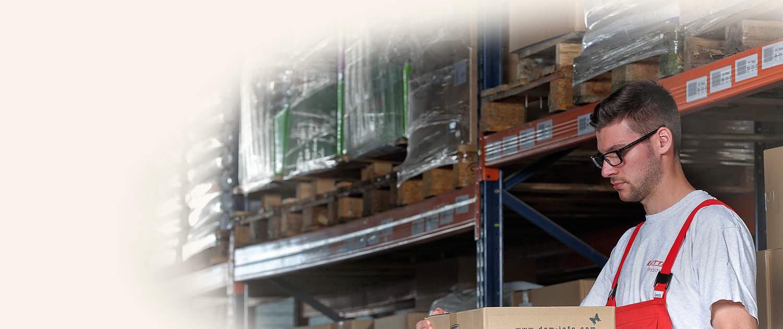 Lutter Spedition NRW - Logistik - Lagerung - Beschaffung - Kommissionierung - immer die richtige Menge am richtigen Ort