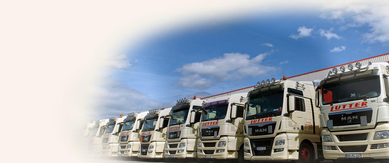 Lutter Spedition NRW - Betriebsumzüge - Maschinentransport - Logistik - Fuhrpark für Transportlösungen aller Art