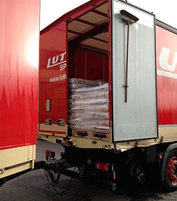 Lutter Spedition NRW - Betriebsumzüge - Maschinentransport - Logistik - Transport von Futtermitteln
