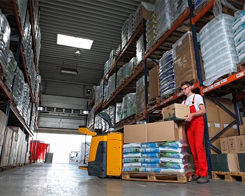 Lutter Spedition NRW - Logistik - Lagerung - Beschaffung - Kommissionierung nach Maß